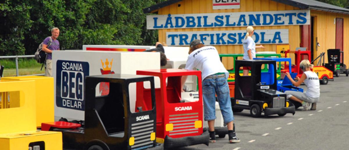 Lådbilslandet - kul aktivitet för barn