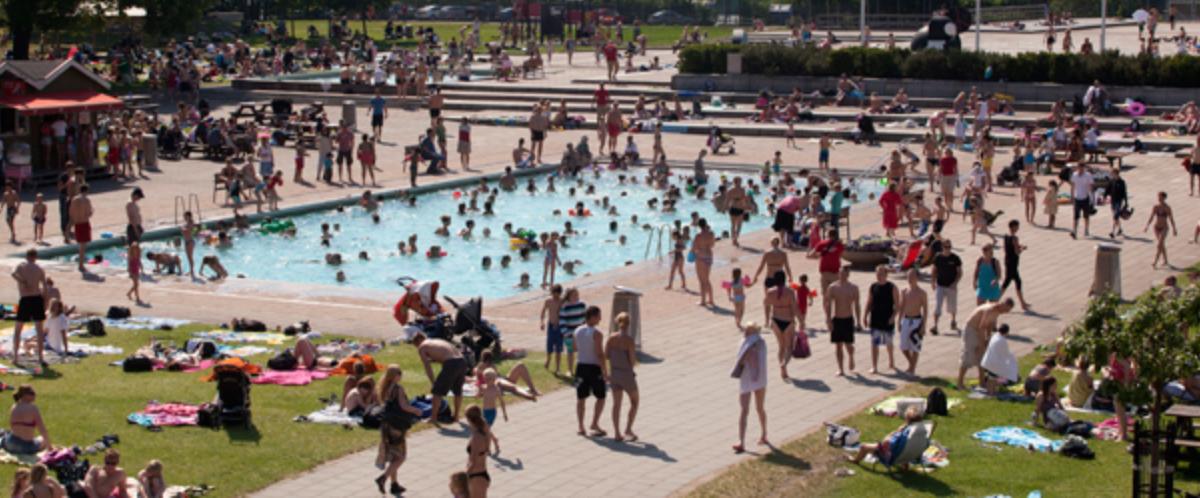 Erikdalsbadet - kul badaktivitet för barn